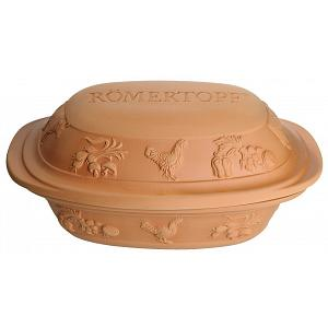 Romertopf Rustico 6 Person Clay Baker