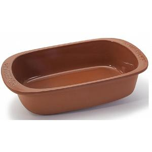 Romertopf 4-6 Person Au Gratin Clay Baker