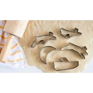 Fox Run Santa's Sleigh Cookie Cutter Set