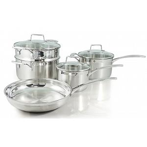Scanpan Impact Stainless Steel Cookware Set of 5