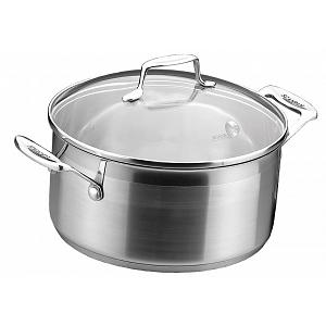 Scanpan Impact 4.8 L Stainless Steel Dutch Oven