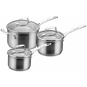 Scanpan Impact 2.5 L Stainless Steel Sauce Pan