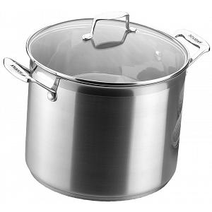 Scanpan Impact 11 L Stainless Steel Stock Pot