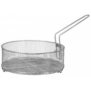Scanpan Techniq 28 cm Stainless Steel Fry Basket