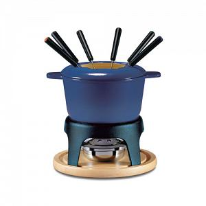Swissmar Sierra Blue 3 in 1 Fondue Set