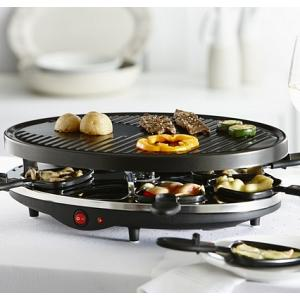 Trudeau Sizzly 8 Person Raclette Grill