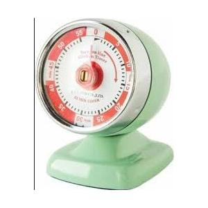Fox Run Mint Green Streamline Timer