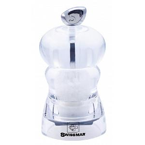 Swissmar Alice 10cm Acrylic Salt Mill