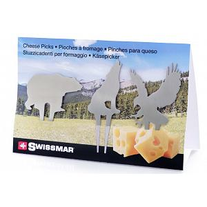 Swissmar Wilderness Cheese Pick Set of 3