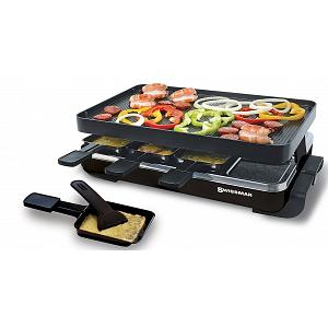 Swissmar 8 Person Black Classic Raclette Grill