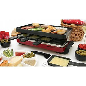 Swissmar 8 Person Red Classic Raclette Grill