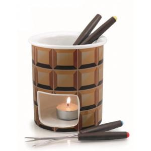 Swissmar Decadence 7 Piece Chocolate Fondue Set