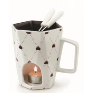 Swissmar Delight 4 Piece Chocolate Fondue Mug Set