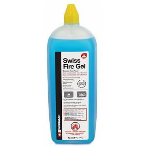 Swissmar 1 Liter Bottle Swiss Fire Gel / Fondue Fuel