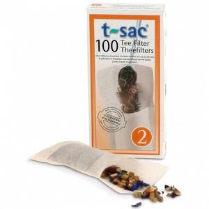 T-Sac #2 - Disposable Tea Infusers - 100-pack