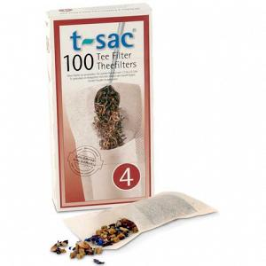 T-Sac #4 - Disposable Tea Infusers - 100-pack