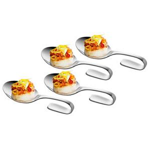 Cuisinox Set of 4 Tapas Spoons