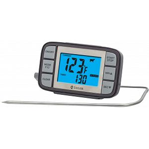 Taylor Customizable Grill Probe Thermometer with Timer