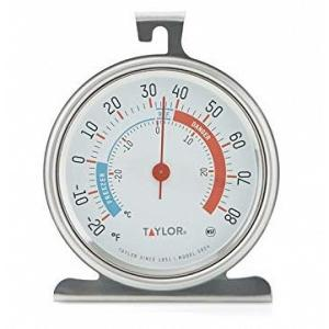 Taylor Dial Fridge & Freezer Thermometer
