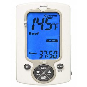 Taylor Preset Digital Wired Probe Thermometer with Timer