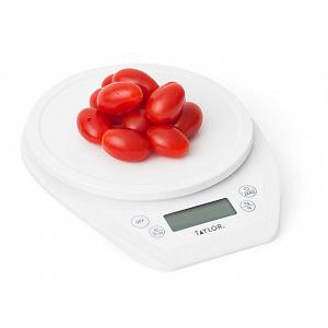 Taylor White Digital Kitchen Scale