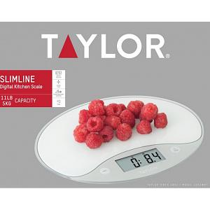 Taylor Ultra Slim Digital Kitchen Scale
