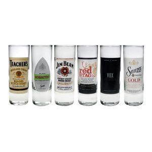 Trudeau Luminarc Top Shelf Set of 6 Shooters