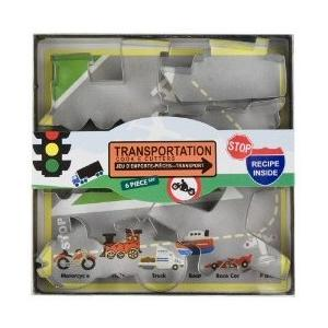 Fox Run Transportation Cookie Cutter Set