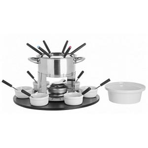 Trudeau Laila 3-in-1 Fondue Set with Rotating Base