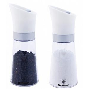 "Swissmar Uma Upside-Down 6"" Salt & Pepper Mill Set"