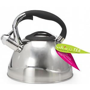Danesco Ch'a Venus 2.5L Stainless Steel Whistling Kettle