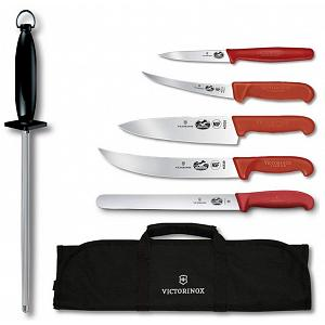 Victorinox Master 7-Piece Competition BBQ Knife Set