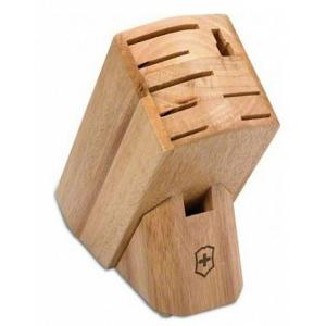 Victorinox Hardwood Wood 9-Slot Knife Block
