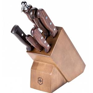 Victorinox Swiss Army 7-pc Rosewood Knife Block Set
