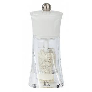 Peugeot Molene White 14cm Wet Salt Mill