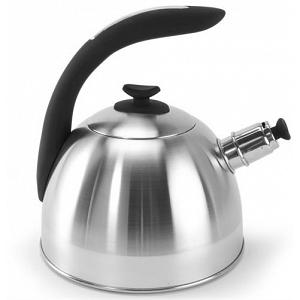 Danesco CH'A Tea 2.5L Black Whistling Kettle