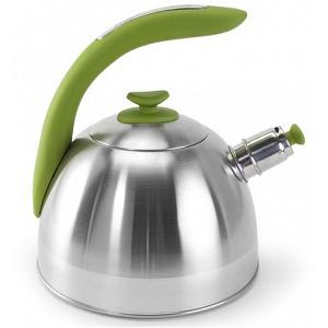 Danesco CH'A Tea 2.5L Green Whistling Kettle