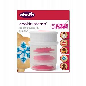 Chef'n Gingerbread Cookie Stamp and Cutter Set