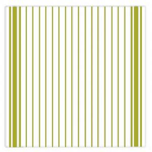 Ziczac Set of 3 Green Striped Dishcloths
