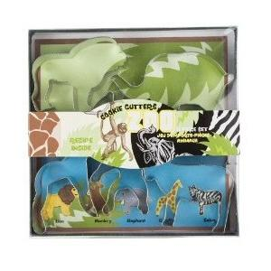 Fox Run Zoo Animal Cookie Cutter Set