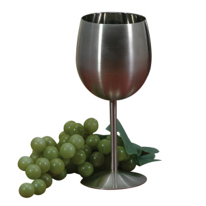 Danesco 10oz Stainless Steel Wine Glass / Goblet