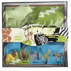 Fox Run Zoo Animal Cookie Cutter Set 1